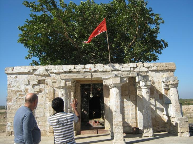 Kali šventykla prie Dwarkos