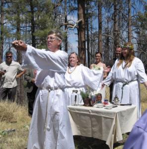 Vestuvės pagal Wicca papročius