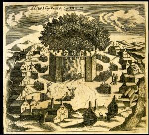 Prūsų Romuva, pagal Kristoforą Hartknochą, 1684