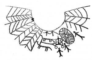 Vežamas Saulės diskas? Atvaizdas ant Vi a. urnos iš Grabovės senkapio (Mažoji Lietuva)