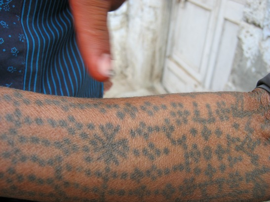 Tatuiruota ranka