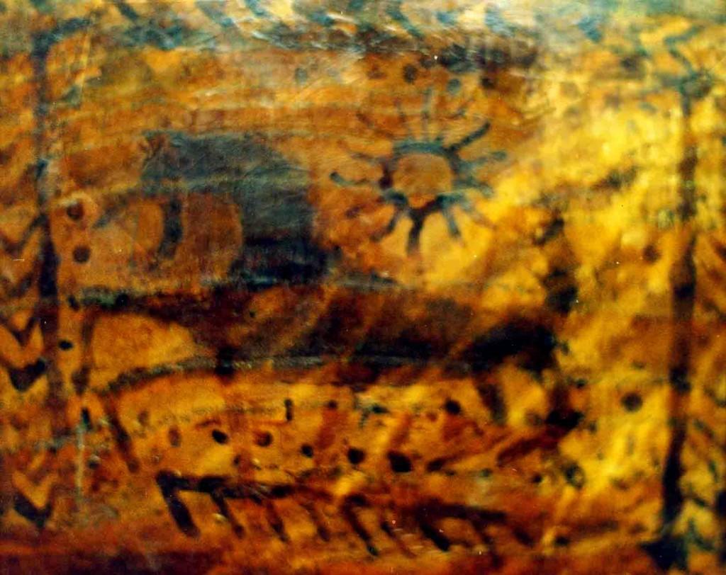 Vandenio žvaigždyną atitinkantis Žirgo atvaizdas ant apeiginio XVII a. kaušo   Alaks.lt, J.Vaiškūno nuotr.