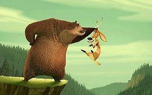"""Kadras iš animacinio filmo """"Medžioklės sezonas atidarytas!"""""""