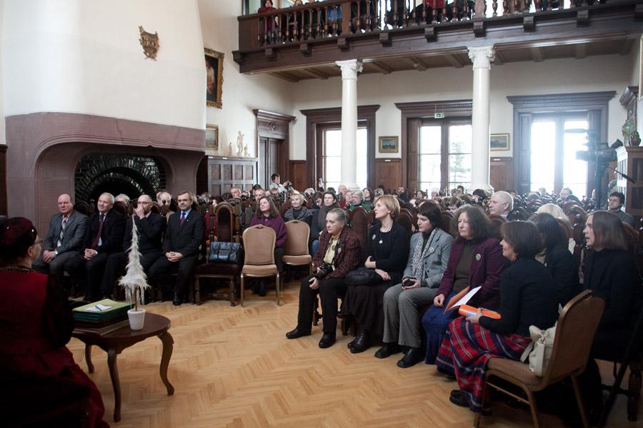 """""""Aukso vainikų"""" įteikimo šventė Rokiškio krašto muziejuje, muziejusrokiskyje.lt nuotr."""