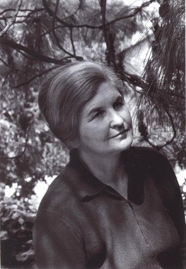 Marija Gimbutiene, 1947, Topanga, JAV, LMAVB F339-69