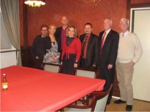 Anykštėnų delegacija (centre) kartu su Jodeshiogo miesto savivaldybės vadovais ir specialistais