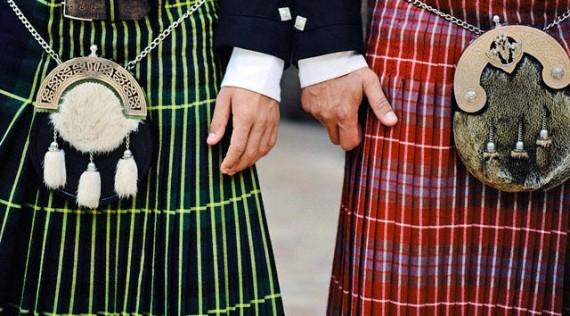 Škotų sijonai-kiltai, corbis nuotr.