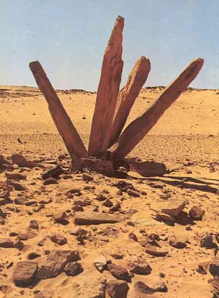 Arabijos pusiasalyje aptiktas astronominės paskirties akmeninių stulpų statinys
