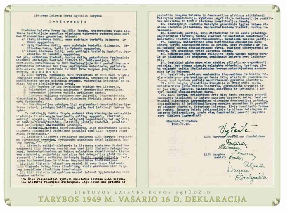 LLKS Deklaracija