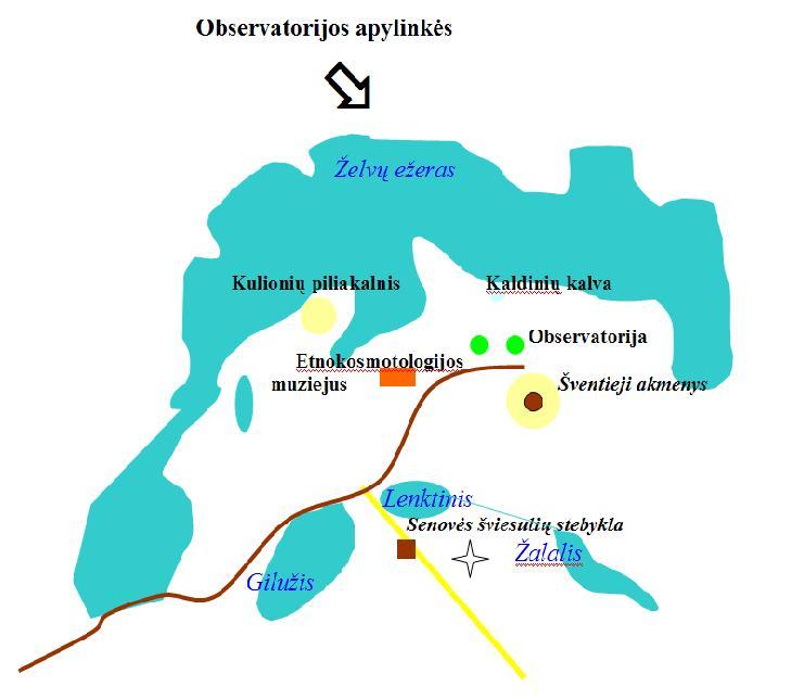 Observatorijos apylinkės | T.Karanausko pieš.
