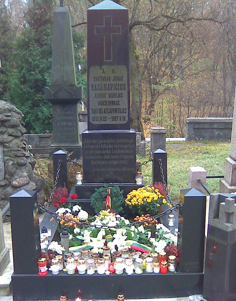 Jono Basanavičiaus kapas | R. Tomaitės nuotr.