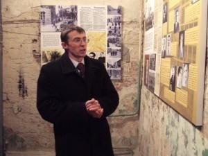 Muziejaus vadovas Ruslan Zabilyj
