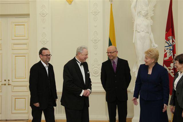 Nacionalinės premijos teikimas 2011 02 16, president.lt nuotr.