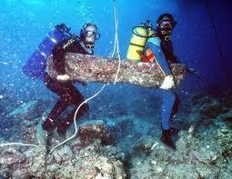 Povandeninė archeologija, technologijos.lt nuotr.