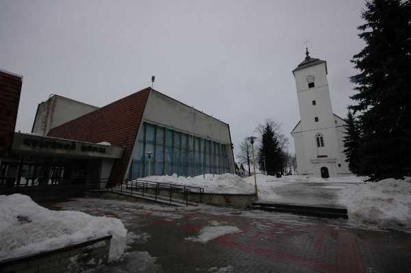 5. Kelmės kultūros centras su protestantų bažnyčia