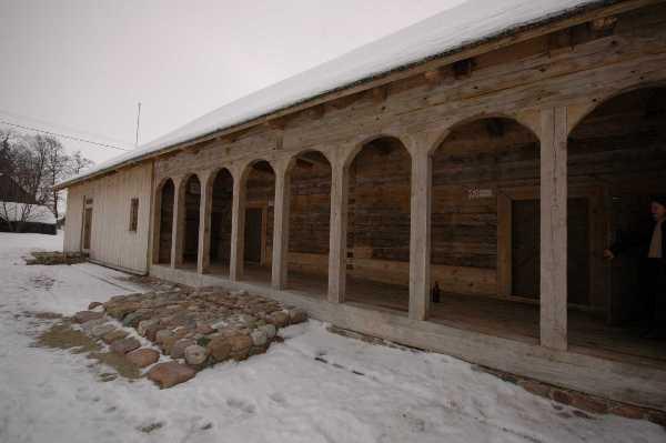 11 pav. Seniausias iki mūsų dienų išlikęs dvaro svirnas po rekonstrukcijos