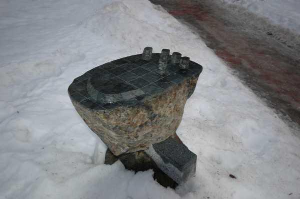 13 pav. Skulptūrų simpoziumo dalyvio darbas