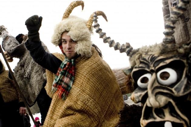 Užgavėnės Rumšiškėse 2011 | delfi.lt, K.Čachovskio nuotr.