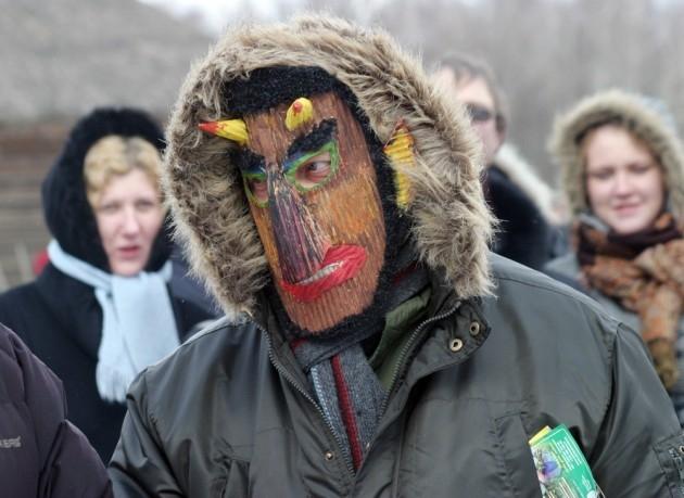 Užgavėnės Rumšiškėse 2011 m. | delfi.lt K.Čachovskio nuotr.