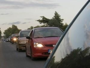 Pagrindinis teršalų šaltinis – automobiliai, jie išmeta apie pusę azoto oksidų kiekio | R.Bužinsko nuotr.