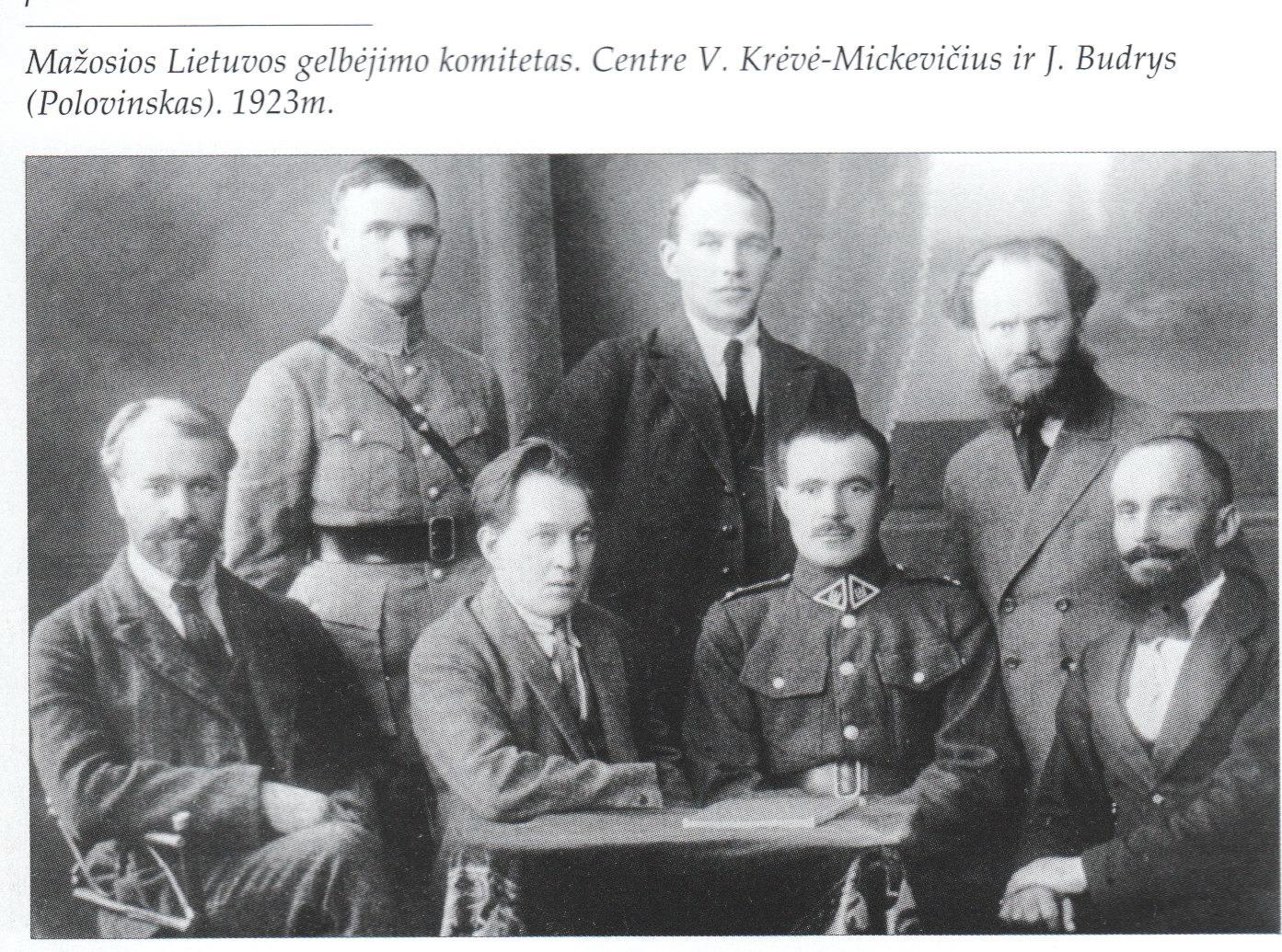 Klaipėdos krašto išvadavimo komitetas 1923 m.