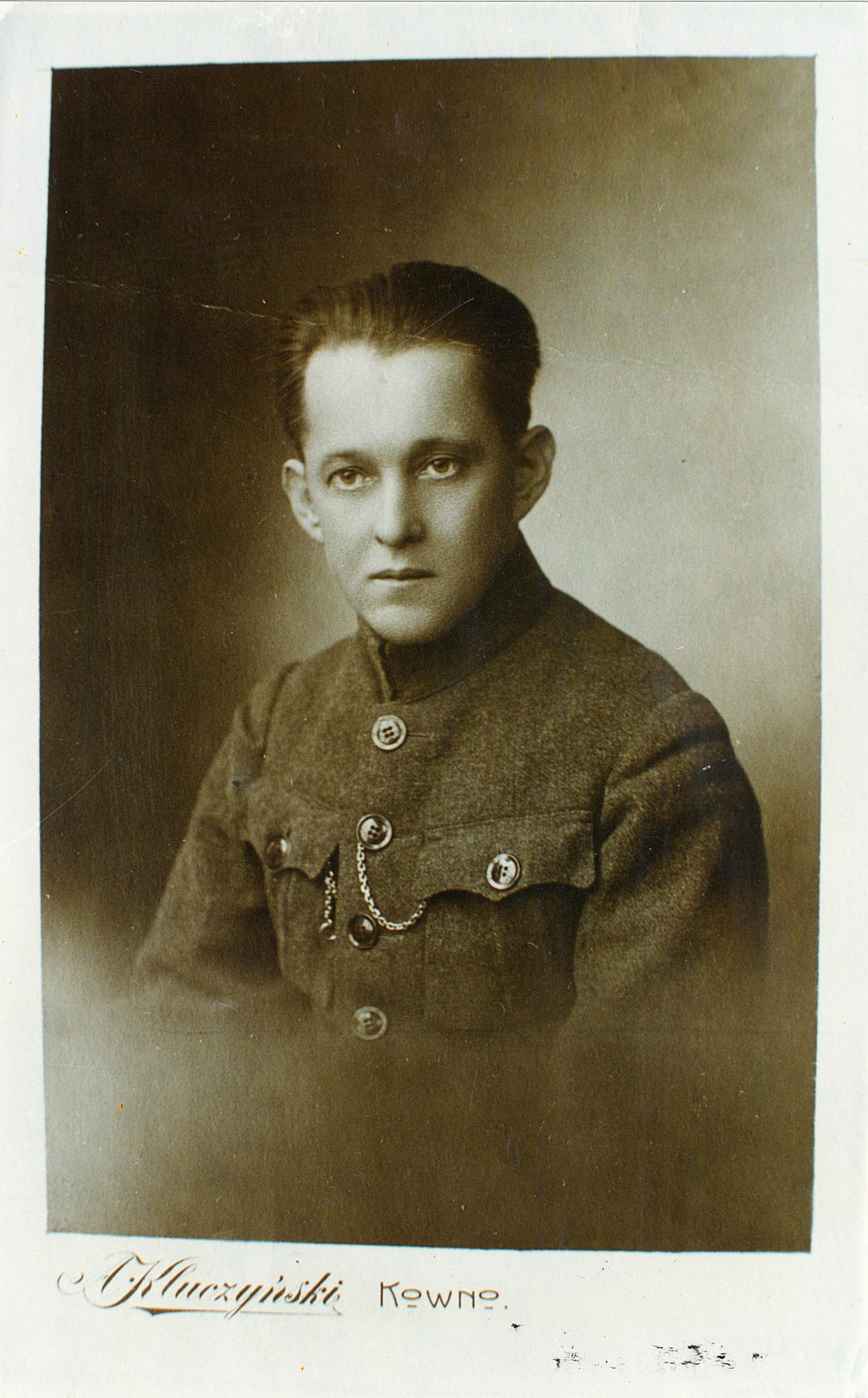 V.Krėvė Šaulių sąjungos pirmininkas 1922-1924 m.