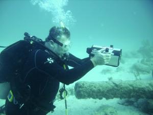 Tyrimai po vandeniu gali atskleisti naujų istorijos detalių. www.newswise.com nuotr.