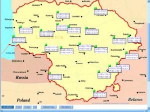 Telemetrinių stočių tinklas