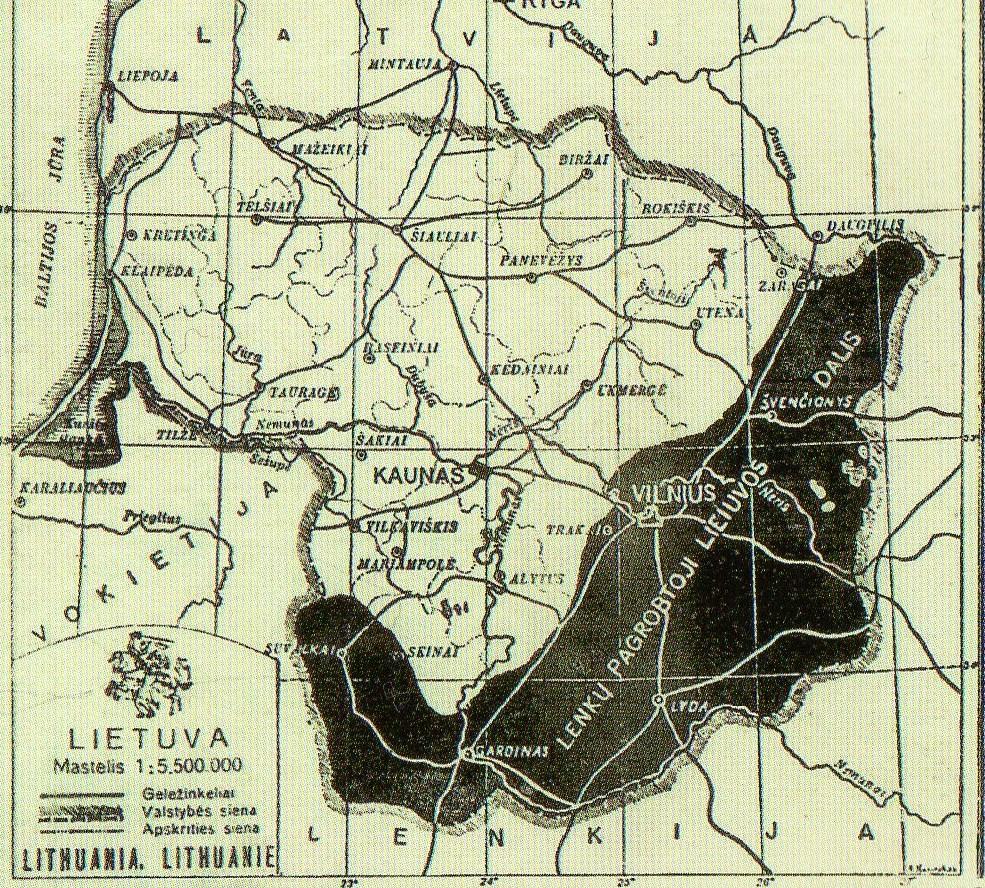 Lenkijos okupuotas Vilniaus kraštas | Archyvinė nuotr.