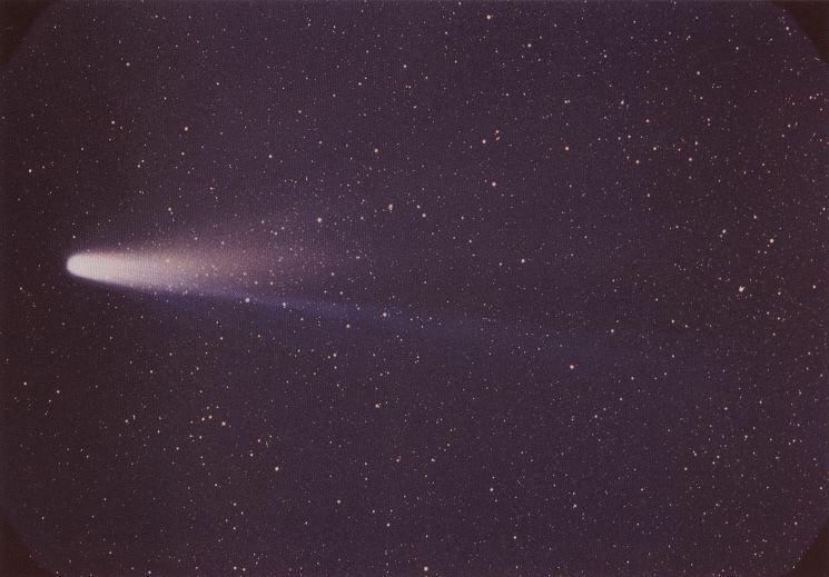 Halio kometa (wikipedia.org nuotr.)