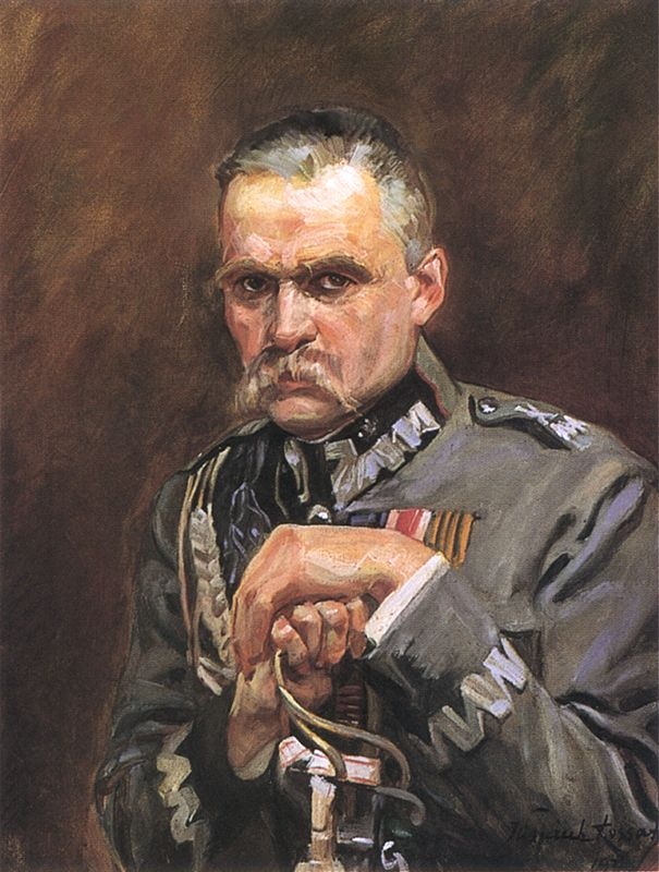 J.Pilsudskis, V.Kosako paveikslas.