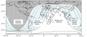 Mėnulio užtemimo žemėlapis