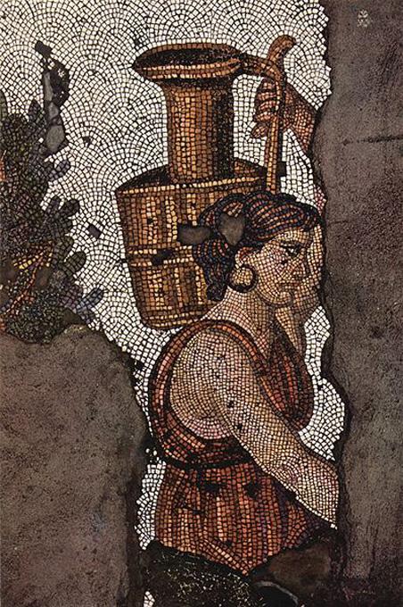 Didžiųjų rūmų mozaikos fragmentas