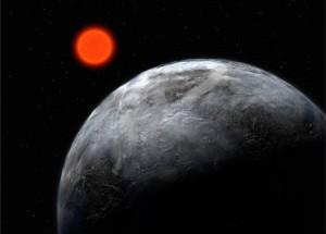 Realiausia kandidatė į 100 metų kelionės žvaigždėlaiviu tikslą - už 20 šviesmečių esanti Gliese 581 sistema