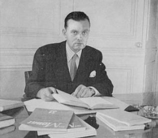 Č.Milošas Paryžiuje 1951 m.