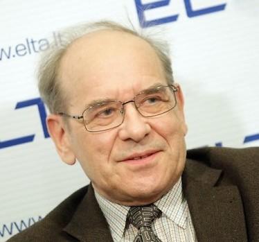 Lietuvos kultūros kongreso tarybos pirmininkas Krescencijus Stoškus | delfi.lt, A.Solomino nuotr.