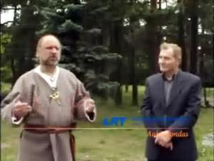Jonas Trinkūnas ir Antanas Gudelis | LRT stop kadras