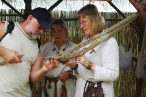 Žvejybos paslaptys gyvosios archeologijos dienose 2010 m. | J.Vaiškūno nuotr.