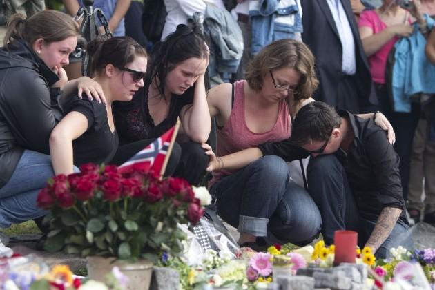 Norvegijos gedulas   AFP/Scanpix nuotr.