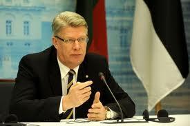 Latvijos Prezidentas Valdis Zatleras