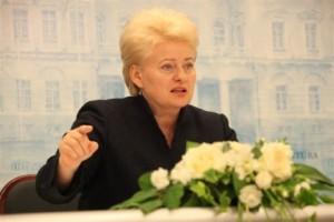 Prezidentė Dalia Grybauskaitė | Dž.G.Barysaitės nuotr.