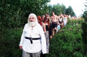 Tadas Šidiškis veda jaunimą protėvių takais