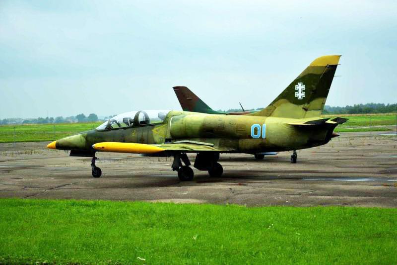 "L-39ZA ""Albatross"" | lam.lt archyvo nuotr."