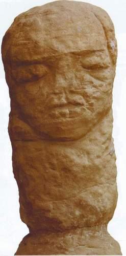 Akmeninis X a. Šklovskio stabas rastas 1963 m.