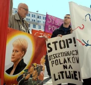Lenkų protesto mitingas Varšuvoje |   Agencja Gazeta, R.Kovalevskio nuotr.