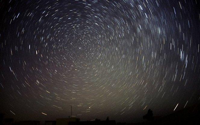 Žvaigždžių sukimasis apie šiaurinę žvaigždę | reuter/scanpix nuotr.