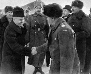 Viačeslavas Molotovas (kairėje) | TopFoto/Scanpix nuotr.