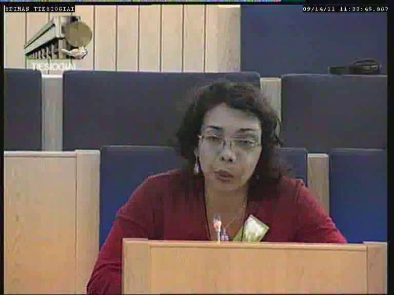 dr. Svetlana Ryžakova | lrs.lt TV transliacijos nuotr.