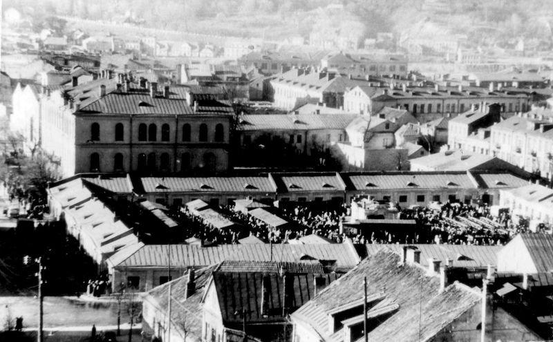 Steigiamojo seimo aikštės (turgaus) panorama (1939m.) | Foto iš pilotas.lt archyvo