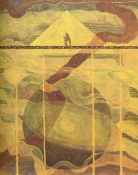 Žvaigždžių sonata. Andante, M.K.Čiurlionis, 1908 m.